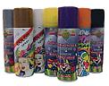 Gekleurde haarspray